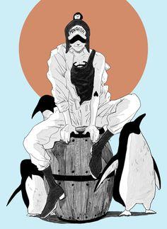 One Piece, Heart Pirates, Penguin