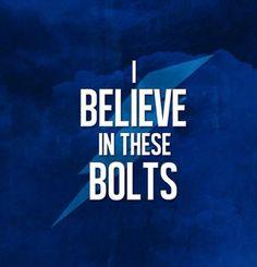 I believe in #TBLightning ...
