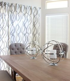 Our Archer Dining Table & Atlas Pillar Holders layer in luxurious textures in @tick_tock_shoppe's dining room.