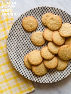 Lemon Poppy Seed Cookies -- made these, they are awesome.  lemon flavor not overwhelming at all - might even add more next time or lemon extract.  i'm no master baker, so i don't know if adding a bit of lemon juice would affect the cookie in any bad way.