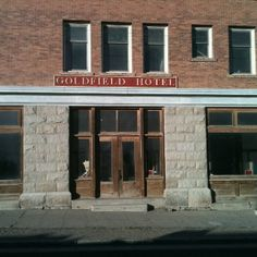 The haunted Goldfield Hotel in Nevada.