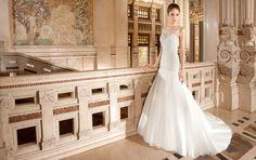 Demetrios Wedding Dress style 568 | www.DemetriosBride.com #DemetriosBride