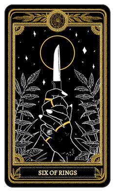 The Marigold Tarot Minor Arcana: Rings, 6-10 Amrit Brar 2017