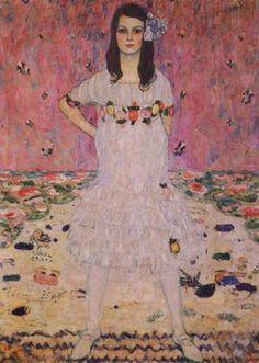 Gustav Klimt Portrait of Maeda Primavesi painting is available for sale; this Gustav Klimt Portrait of Maeda Primavesi art Painting is at a discount of off. Art Nouveau, Metropolitan Museum, Art Klimt, Vienna Secession, Alphonse Mucha, Oil Painting Reproductions, Famous Artists, Oeuvre D'art, Art History