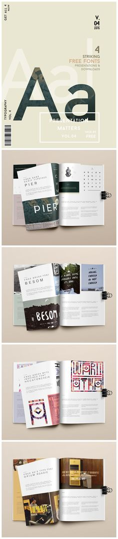If like me, you too are always on the look out for new fonts that stand out, you'll love these. I chose to include these not just because of how the fonts look but also because of the way they are presented.  No matter what you do, how you present your work can really make a difference. #Free #download links to all 3 #fonts are at the end of the post. #typography #graphicdesign #graphicdesigner