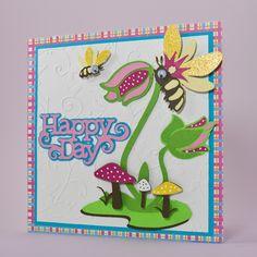Cricut Birthday Cards | Birthday Card - Cricut Cartridge: Kate's ABCs | cricut