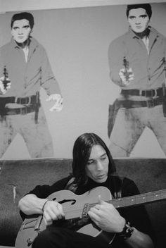 John Cale by Stephen Shore