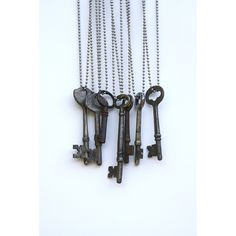 Our keys were hand-picked and came from Los Angeles-area homes around 1920. During this same time period it was said that Harry Houdini, the great magician, had a key to every lock in the world, as th
