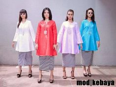 Mod kebaya Fashion Ideas, Women's Fashion, Fashion Outfits, Fashion Design, Raya 2017, Dress Skirt, Skirt Set, Traditional Clothes, Kebaya