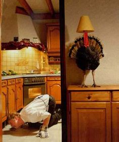 Funny Thanksgiving Pictures - Girl to Mom