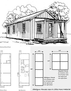 Small Home Designs Shotgun Houses The Tiny Simple
