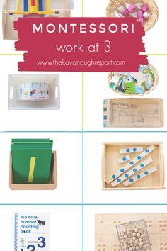 Montessori Work Shelf at 3-years-old