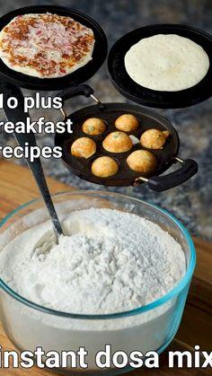 Pakora Recipes, Paratha Recipes, Chaat Recipe, Biryani Recipe, Instant Recipes, Instant Dosa Recipe, Spicy Recipes, Cooking Recipes, Vegetarian Fast Food