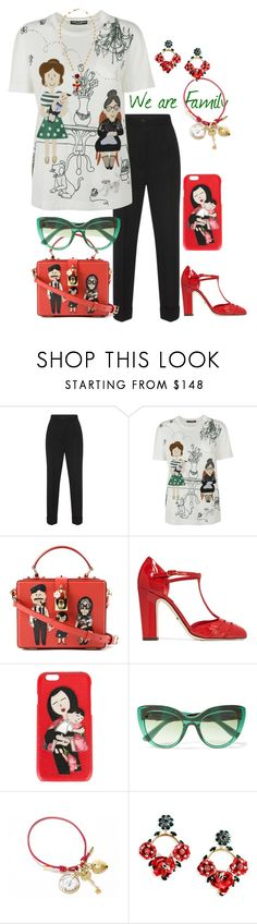 """""""For Petalp!"""" by easy-dressing ❤ liked on Polyvore featuring Dolce&Gabbana, family and polyvoreeditorial"""