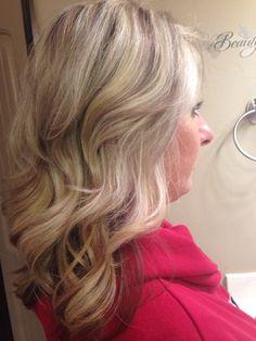 Blonde hair... Highlights, lowlights