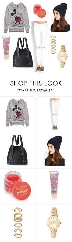 """""""School Swag"""" by forever21 ❤ liked on Polyvore featuring Forever 21"""