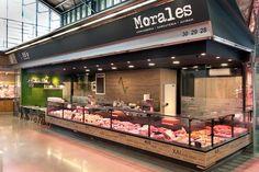Reforma para el cliente Carnicería Morales ubicado dentro del mercado del Ninot para conseguir una zona de degustación y su cocina
