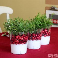 5 tipů pro vánoční dekorace na stůl | Let´s Create