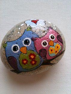 Hand Painted Rocks by Fern Blossom Studio
