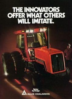 Allis Chalmers 8000 Series tractors.107hp 8010,132hp 8030,152hp 8050,170hp 8070