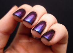 love purple nails