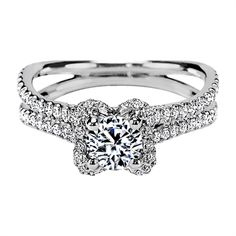 3a54c84ab ER170: Pave Diamond Contoured Arched Cathedral