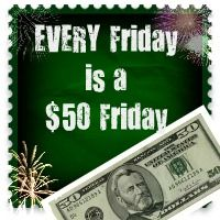$50 Friday Blogger Event! May 11!  Need 9 more Bloggers!
