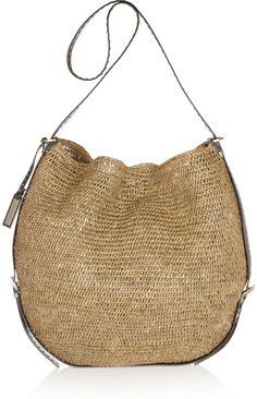 Love this: Santorini Woven Raffia Shoulder Bag @Lyst