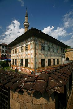 The Painted Mosque - Tetovo Macedonia republic Temple Architecture, Indian Architecture, Albania, Bulgaria, Macedonia Skopje, Have A Nice Trip, Beautiful Places To Visit, Amazing Places, Beautiful Mosques