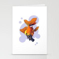 Breathe Stationery Cards by Nameless Shame - $12.00