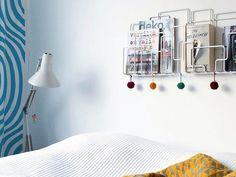 City sunday wall mounted magazine rack white photo by @jonnahah