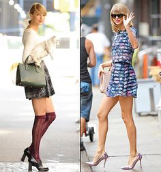 Taylor Swift love the navy floral set