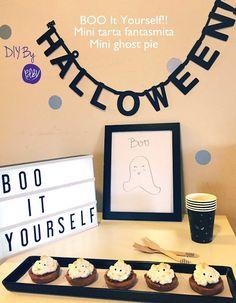 PDBV: BOO It Yourself!! Mini tarta fantasmita de Dulce de Leche // Mini Ghost pie Dulce de Leche