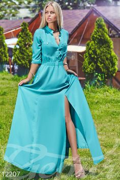 Картинки по запросу платье рубашка в пол Sexy Dresses, Nice Dresses, Casual Dresses, Modest Fashion, Girl Fashion, Fashion Outfits, African Fashion Dresses, African Dress, Flora Dress