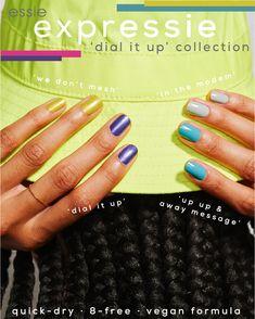 Cute Nail Art, Cute Nails, Chistmas Nails, Fast Drying Nail Polish, Essie Nail Polish Colors, Paris Nails, Dry Nails Quick, Clean Nails, Best Acrylic Nails