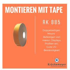 RK 885 - Doppelseitiges Mount zum Montieren #Krueckemeyer #Klebeband #Kleben #Adhesive #Tape #Montieren