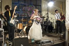 Concert themed wedding
