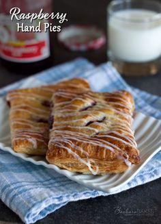 Raspberry Hand Pie Recipe from Barbara Bakes