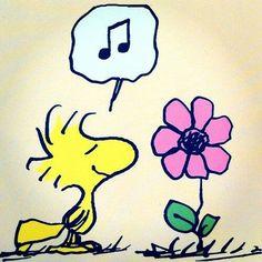 Sing, little flower. ; )