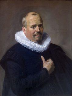Frans Hals - Portret van een onbekende man (1634)