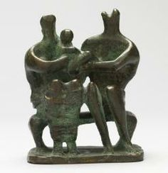 Henry moore - maquette for family group