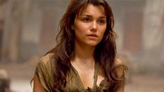 Eponine in the Les Miserables movie