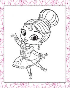 Leah Shimmer Shine Coloring Pages Pinterest Coloring Pages