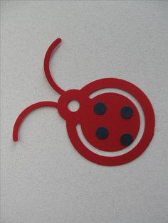Ladybug Make-n-Take made w/ Creative Memories Shape Maker System & Circle Tag Cartridge.  My Facebook Business Page:  Candice's Scrapbooking Michigan  www.creativememories.com/user/CandaceBouldin