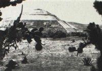 Teotihuacan by Hugo Brehme. Ca. 1930.