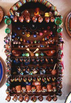 Decorative Mexican pottery - cultural icon