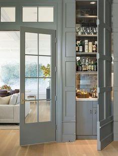 25 Best Creative Hidden Doors for Secret Rooms Designs Ideas - Page 32 of 34 Door Design, Home Living Room, Room Design, House, Interior, Home, Seattle Homes, Bars For Home, Secret Rooms