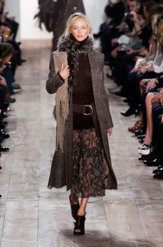 See all the looks from the Michael Kors autumn/winter 14 collection at #NYFW http://uk.bazaar.com/1aXRtGj
