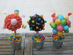 anniversaire - couleur pop - arbre à bonbon: