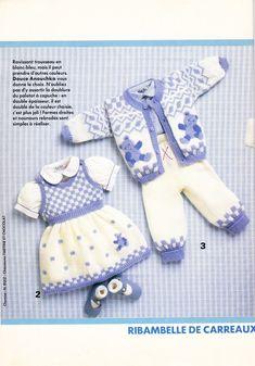 Phildar №130 1987 Layette Mailles (вязание спицами и крючком)